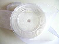 Лента органза белая, 5 см