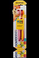 Детская зубная щетка Dontodent Kids от 1 до 7 лет, 2 шт