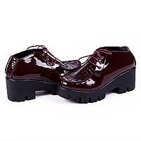 Модные яркие туфли