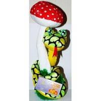 Механическая змея с грибом (поет и двигается)