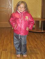 Весенний детский костюмчик для девочки