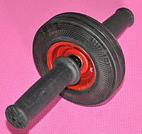 Колесо для преса металеве одинарне FI-3887  на шарикопідшипнику діаметром 125 мм.