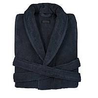 Женский махровый халат CASUAL AVENUE Chicago DEEP BLUE темно-синий размер M