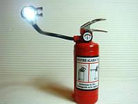 Зажигалка Огнетушитель с фонариком