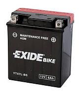 Аккумулятор Exide 12V 6AH/80A (YTX7L-BS)