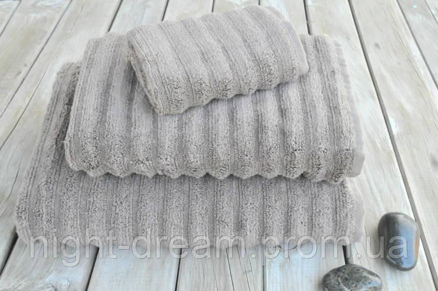 Махровое полотенце 33х33  Key West Warm Gray из гидрохлопка