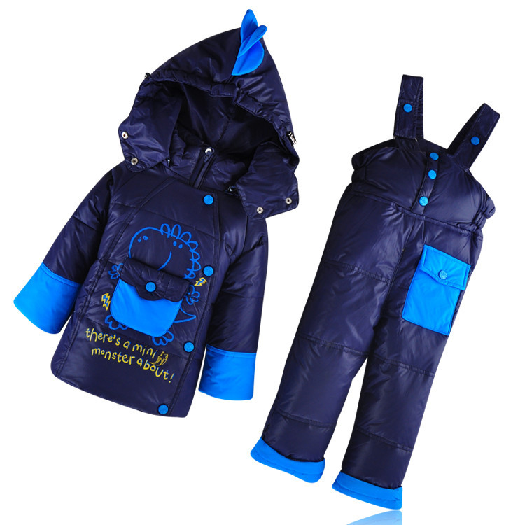 Зимние костюмы на пуху детские