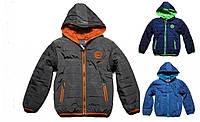 Куртка осенняя для мальчика 98-140см