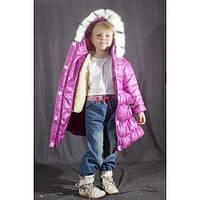 Зимнее пальто для девочек от 2-х до 5-ти лет