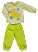 Пижама детская трикотажная Луна на 1 год