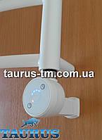 Белый ТЭН с таймером до 5 часов (Польша) + Маскировка провода. Для полотенцесушителей: водяных и электрических