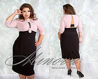 Платье женское нарядное плотный двойной креп-стрейч+ кружевная тесьма ручной работы Размеры 46,48,50,52,54,56,