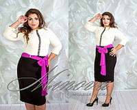 Платье женское нарядное с кружевной тесьмой ручной работы Размеры 46,48,50,52,54,56,58