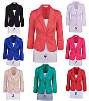 Стильный  пиджак -блейзер  ~8 цветов~