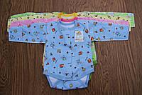 Бодик(байка) для новорожденного с длинным рукавом