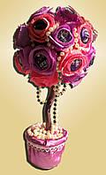 """Топи-арий композиция букет цветы из конфет """"Гламур"""""""