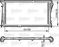 Радиатор двигателя на Renault Trafic 2006->  2.5dCi (146 л.с.) — Valeo  (Франция) - VAL734931