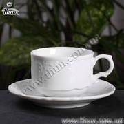 Thun Кофейная чашка с блюдцем Bernadotte 120мл H&R