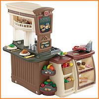 """Детская кухня и супермаркет 2 в 1 Step 2 """"Овощная фантазия"""" Fresh Market"""