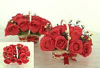 """Композиция букет цветы из конфет """"С любовью"""" конфеты """"Рафаэлло"""""""