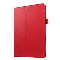 Кожаный чехол книжка для Samsung Galaxy Tab S2 9.7 красный