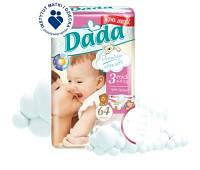 Подгузники Dada (Дада), 3 midi, 4-9 кг, 64 шт.