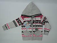 Кофта вязанная для девочки ( 1-3 ) года