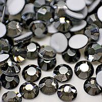 Cтразы ДМС+ (Корея).Black Diamond Satin ss20 (5mm).Цена за 100шт