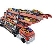 Хот Вилс гараж-трейлер на 50 машинок