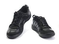 Кроссовки мужские Adidas Daroga черные кожаные Оригинальные
