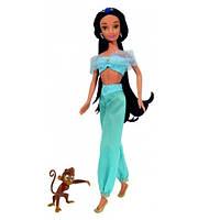Кукла Жасмин с мартышкой Абу принцесса Дисней Disney Princess