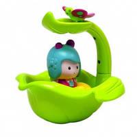 Интерактивная игрушка МИМИ И ВОЛШЕБНАЯ ЛОДКА-ЛИСТОК для игры в ванной