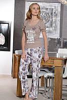 Женская пижама Shirly 5876, костюм домашний с брюками