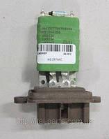 Резистор управления вентилятором печки Fiat Doblo. Для автомобилей оснащёных кондиционером.