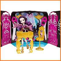Зал для вечеринки Monster High и кукла Спектра из серии 13 Wishes Монстр Хай