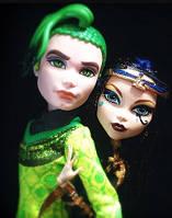 Набор кукол Monster High Дьюс и Клео (Deuce & Cleo) Бу Йорк Монстер Хай Школа монстров