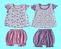 Комплект-платье+шорты