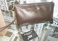 Клатч-сумка мужская MONT BLANC, кожа, Италия
