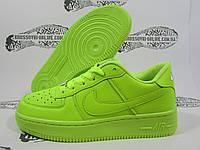 Женские Nike Air Force 1, неоновые