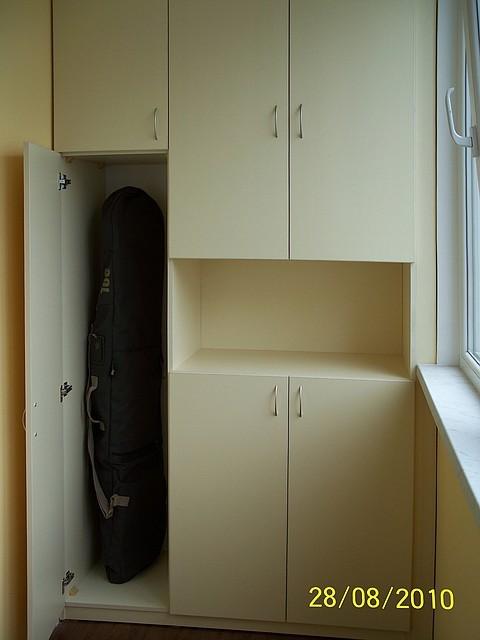 Шкафчики на балконе стоимость..