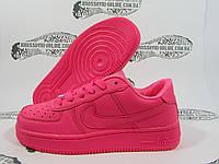 Женские Nike Air Force 1, малиновые