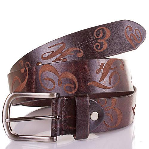 Женский кожаный ремень ETERNO (ЭТЕРНО) ETS2076 коричневый