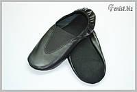 Чешки кожаные (черные)
