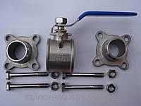 Разборной нержавеющий кран DN 50 AISI 316L