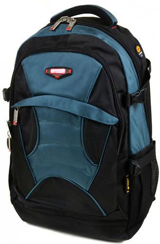 Практичный городской рюкзак из нейлона  Power In Eavas 35 л. 8705 light-blue, светло-синий