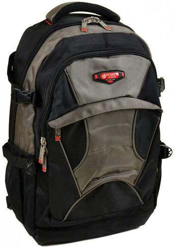 Функциональный городской рюкзак из нейлона  Power In Eavas 35 л. 8705 dark-green, темно-зеленый