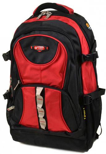 Стильный городской рюкзак из нейлона  Power In Eavas 38 л. 8704 red, красный