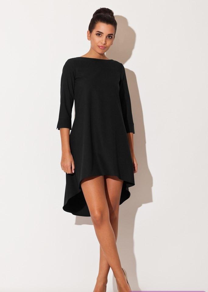 Платье сзади длиннее купить