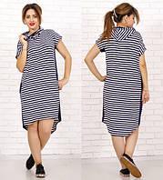Платье летнее узкая полоска. код 205