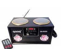 """Портативная акустическая система """"QAAQ"""" QA-500D Аудио-выход MP3 плеер USB/SDcard вход"""